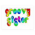Cool Sisters Birthdays Christmas : Groovy Sister Post Cards