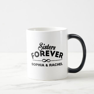 Cool - Sisters Forever 11 Oz Magic Heat Color-Changing Coffee Mug