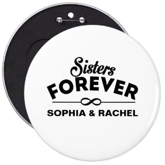Cool - Sisters Forever Button