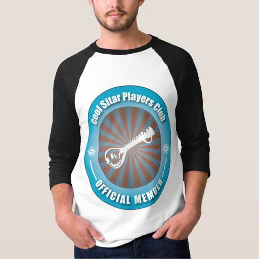 Cool Sitar Players Club Raglan T-Shirt