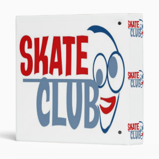 COOL SKATE CLUB BINDER