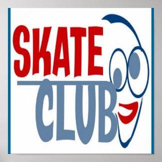 COOL SKATE CLUB POSTER