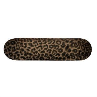 Cool Skateboard Leopard Print Deck NEW!
