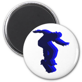 Cool Skateboarder motion design Magnet