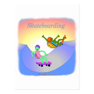 Cool skateboarding gifts for kids postcards