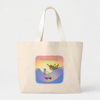 Cool skateboarding gifts for kids tote bag