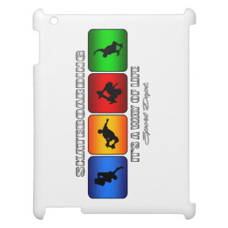 Cool Skateboarding It Is A Way Of Life Case For The iPad