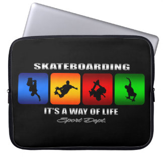 Cool Skateboarding It Is A Way Of Life Computer Sleeves