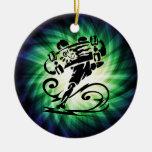 Cool Skater; Skateboarder Christmas Ornaments