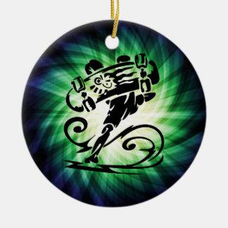 Cool Skater Skateboarder Christmas Ornaments