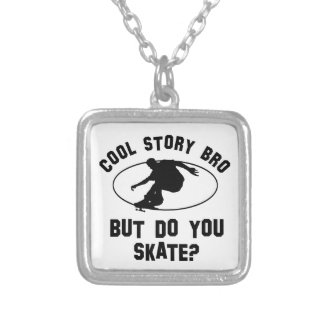 cool skating designs custom necklace