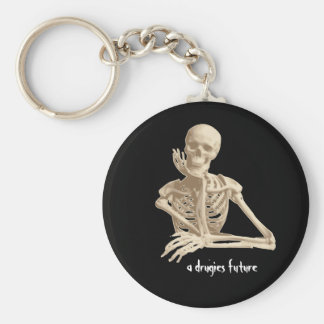 cool skelton keychain
