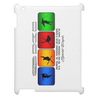Cool Ski It Is A Way Of Life iPad Cover