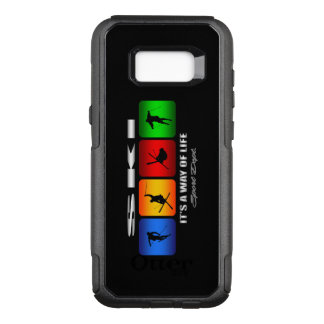 Cool Ski It Is A Way Of Life OtterBox Commuter Samsung Galaxy S8+ Case