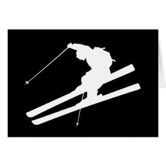 Cool skiing card