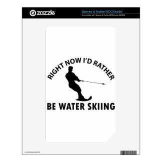 Cool skiing  designs NOOK color skin