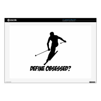 Cool Skiing designs Decal For Laptop
