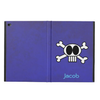 Cool Skull and Crossbones Personalized Powis iPad Air 2 Case