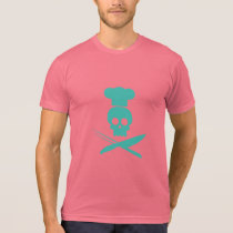 Cool Skull Chef - Hope Blue T-Shirt