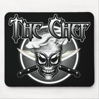 Cool Skull Chef mousepad Mouse Pad