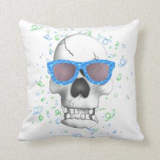 Cool skull cushion