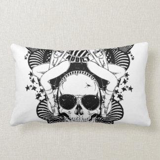 Cool skull pillow