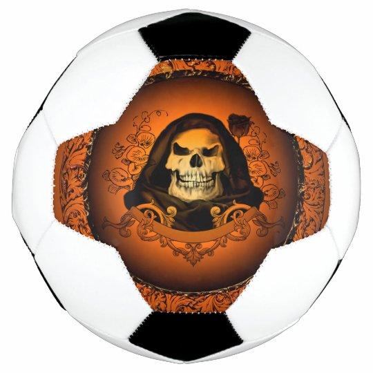 cool skull soccer ball zazzle com