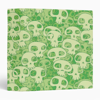 Cool skulls 3 ring binders