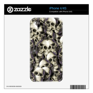 cool skulls iPhone 4S decal