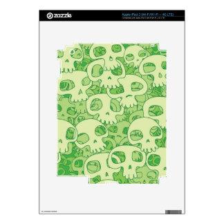 Cool skulls iPad 3 skin
