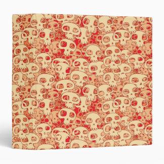 Cool Skulls Vinyl Binder