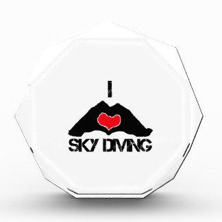 cool Sky Diving DESIGNS Acrylic Award