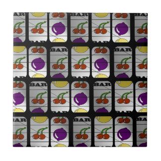 Cool Slot Machine Pattern Tile
