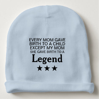 Cool Smart Cute Funny Quotes Baby Beanie