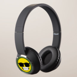 Cool Smiley Face Headphones