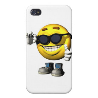 cool smiley face iPhone 4/4S cover