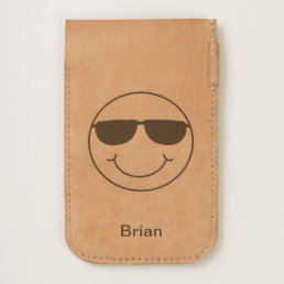 Cool Smiley Face with Sunglasses Personalized iPhone 6/6S Case