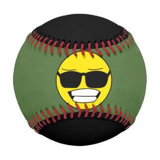 Cool Smiley Faces Baseball