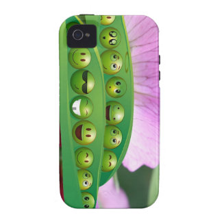 Cool Smiley Peas in-a Pod Multiple Product selecte iPhone 4/4S Covers