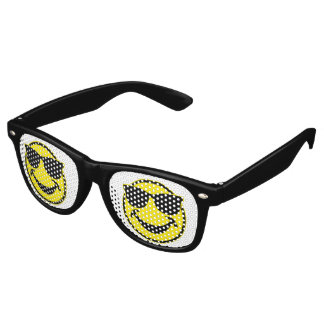 Cool Smiley yellow + your backg. & ideas Wayfarer Sunglasses