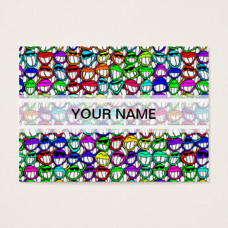 COOL SMILING FACES GROUP BUSINESS CARD