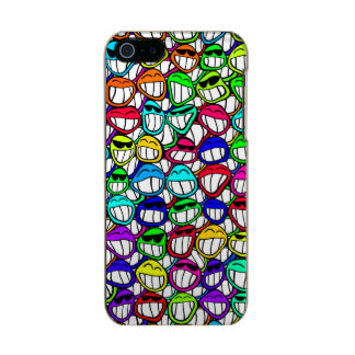 COOL SMILING FACES GROUP + your idea Incipio Feather® Shine iPhone 5 Case