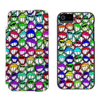 COOL SMILING FACES GROUP + your idea Incipio Watson™ iPhone 5 Wallet Case