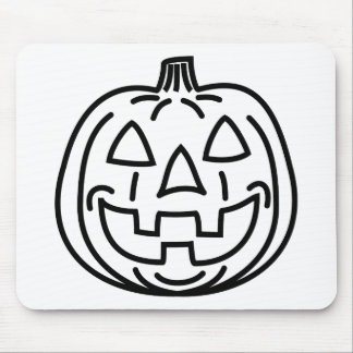 Cool smiling pumpkin mouse pads