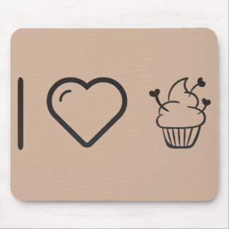 Cool Smooth Cupcakes Mouse Pad
