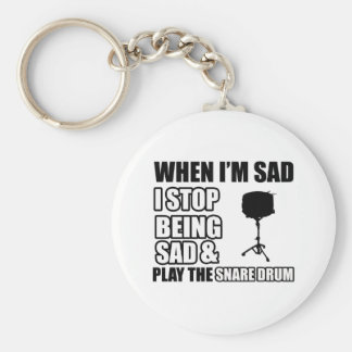 Cool Snare drum designs Key Chains