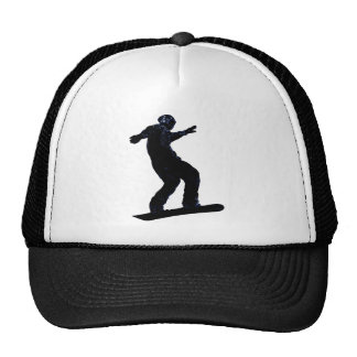 Cool SNOW BOARDER Collection Trucker Hats