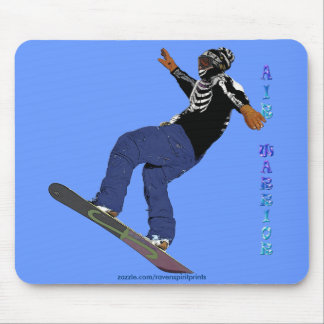 Cool SNOW BOARDER Collection Mouse Pad