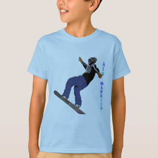 Cool SNOW BOARDER Winter Sports Series T-Shirt