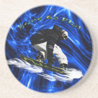 Cool Snow Boarder Winter Sports Theme Coaster